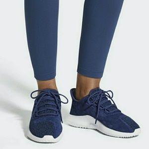 NIB Adidas Blue Tubular Shadow Shoes Sz 7